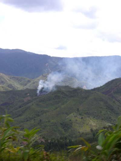 Berge östlich von Antananarivo