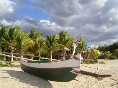 Fischerboot Majunga
