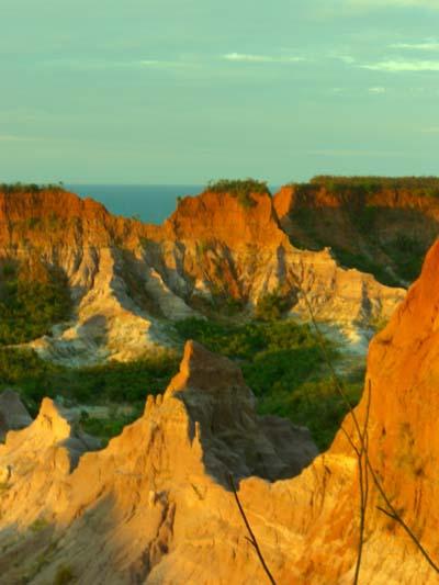 Roter Canyon bei Majunga