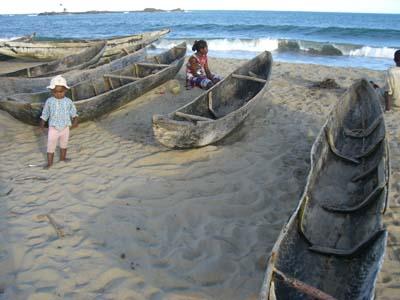 Fischerboote Vatomandry
